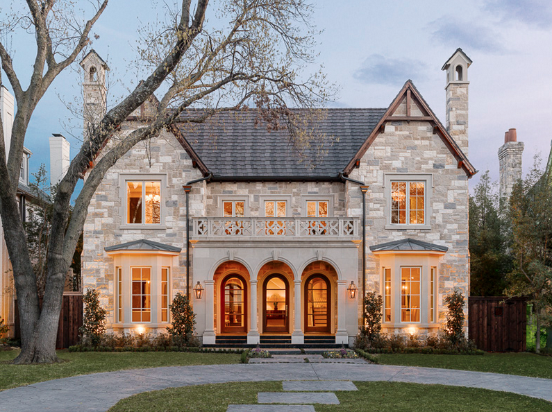 33 Million Newly Built Stone Brick Home In University Park TX