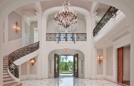 16 Of The Grandest Residential Foyers Ever Built