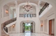 16 Of The Grandest Residential Foyers Ever Built