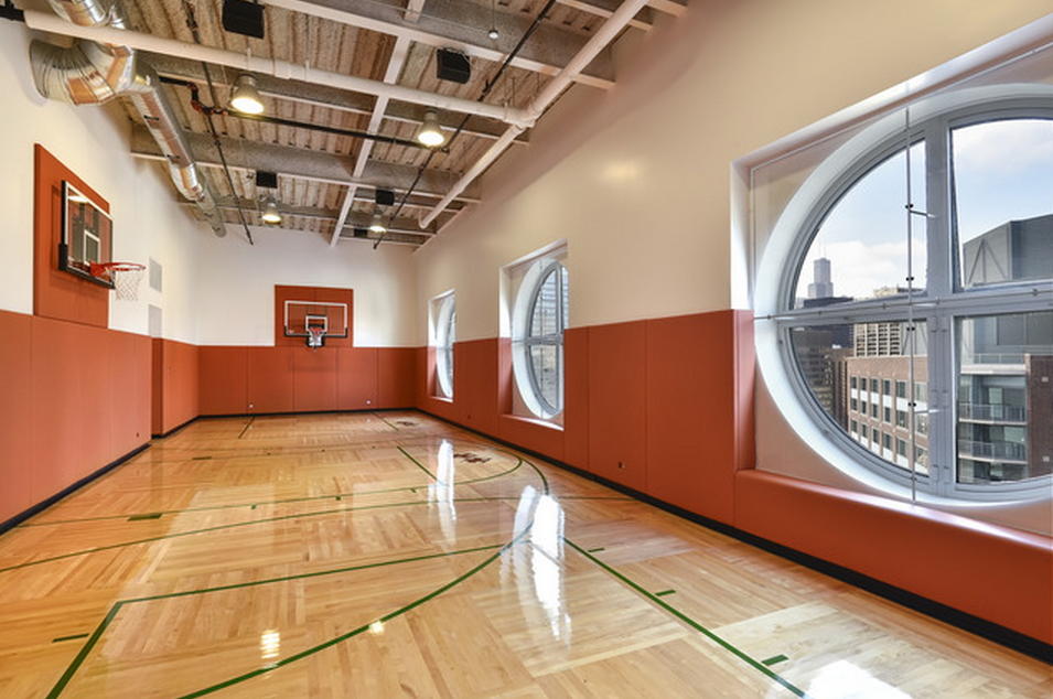 Homes of the rich the 1 real estate blog luxury Indoor basketball court ceiling height