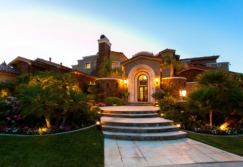 $4.47 Million Stone & Stucco Mansion In Las Vegas, NV