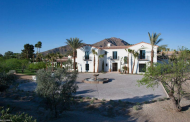 Villa Andalusia – A Newly Built Spanish Colonial Revival Home In Paradise Valley, AZ