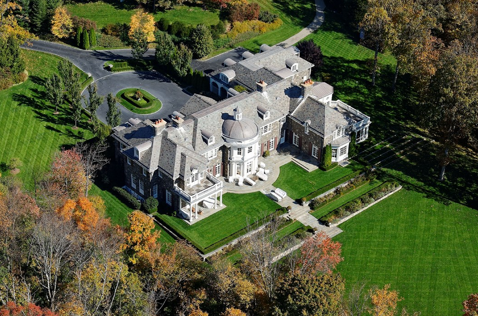 Georgian Colonial Mansion $17.9 million 19,000 square foot georgian colonial mansion in