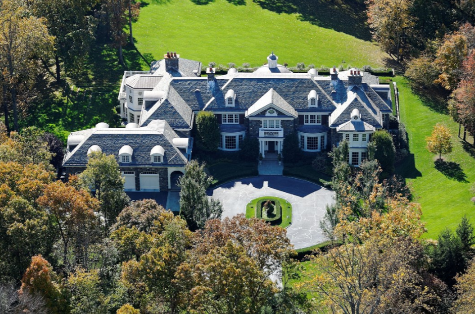 $17.9 Million 19,000 Square Foot Georgian Colonial Mansion In Chappaqua, NY