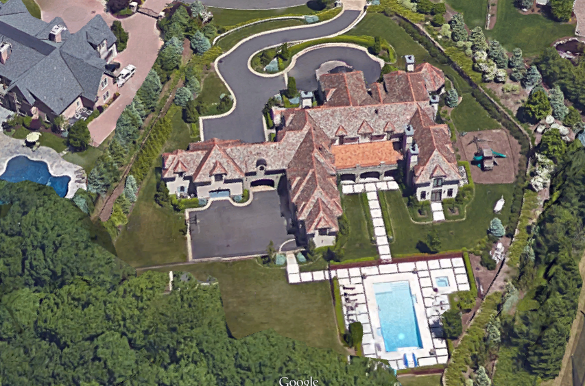 9 5 Million 25 000 Square Foot Tuscan Mega Mansion In
