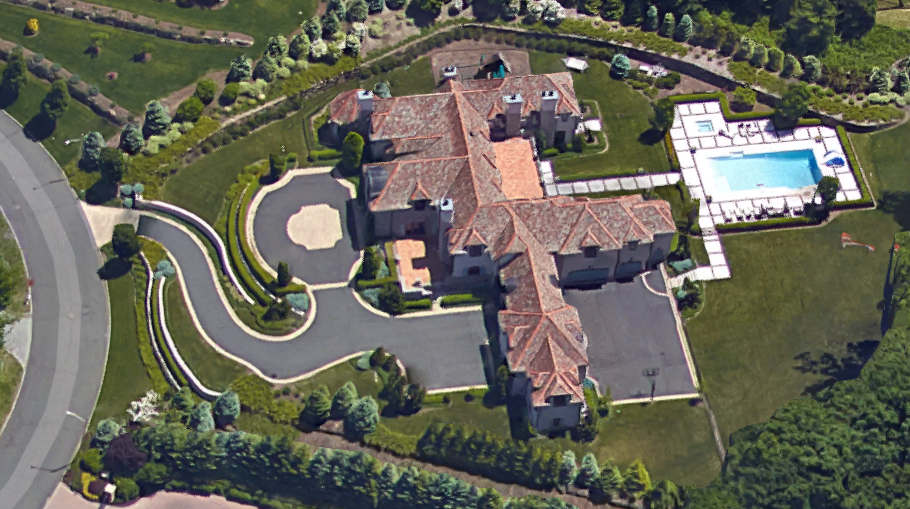 Million Square Foot Tuscan Mega Mansion Cresskill Homes The Rich