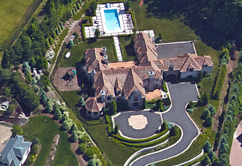 9 5 Million 25 000 Square Foot Tuscan Mega Mansion In Cresskill Nj