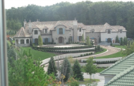 $9.5 Million 25,000 Square Foot Tuscan Mega Mansion In Cresskill, NJ
