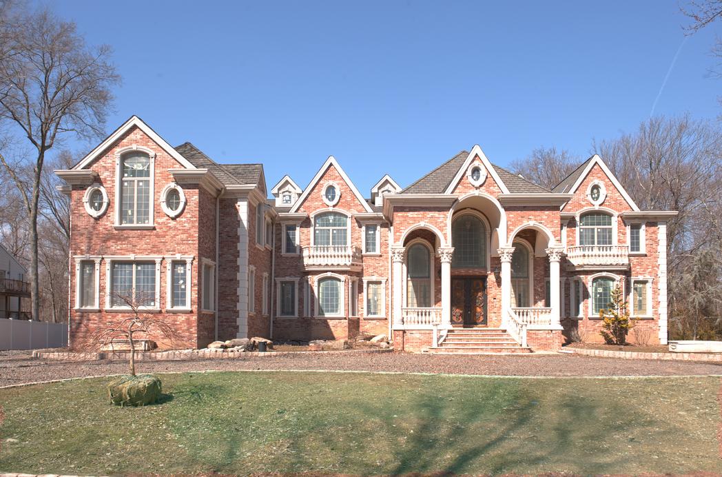 Lavish 16,000 Square Foot Brick Mansion In Wyckoff, NJ For Just $2.3 Million!
