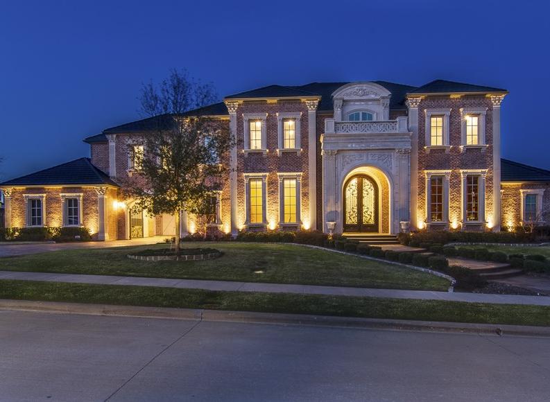 $3.849 Million Brick Mansion In Allen, TX | Homes of the Rich