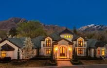 $3.45 Million Limestone Mansion In Salt Lake City, UT