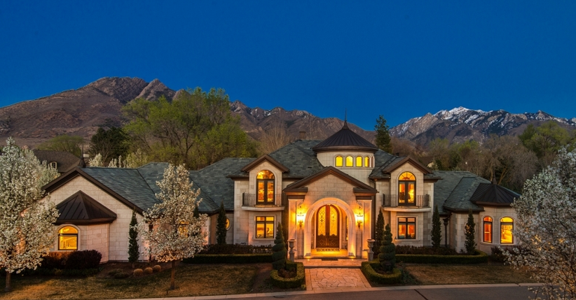 $3.45 Million Limestone Mansion In Salt Lake City, UT
