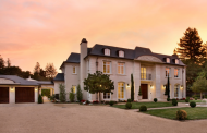 $24.8 Million French Normandy Mansion In Atherton, CA