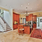 Gourmet Kitchen w/ Rear Staircase
