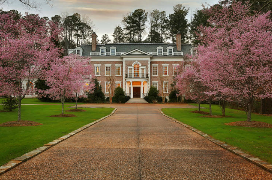 3 5 Million Brick Colonial Mansion In Peachtree City Ga