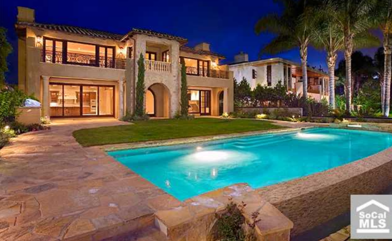 Tuscan Waterfront Estate In Newport Beach Ca 100000