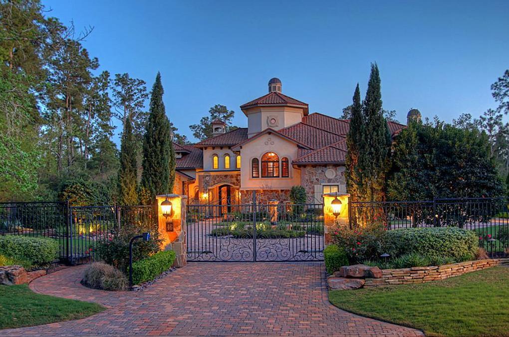 $2.5 Million Mediterranean Home In The Woodlands, TX