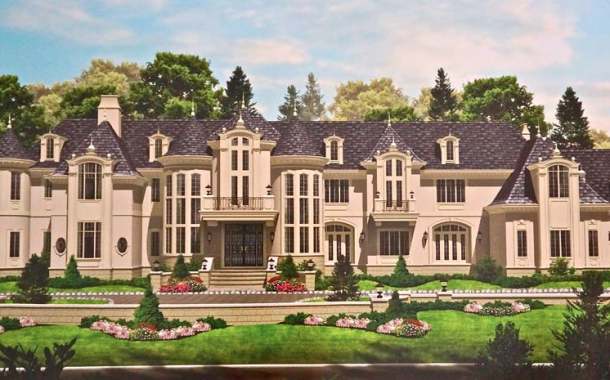 Hockey Player Ilya Kovalchuk's 20,000 Square Foot Alpine, NJ Mansion