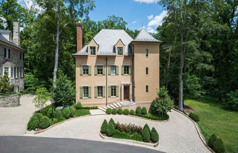 $5.995 Million French Provincial Mansion In Washington, DC