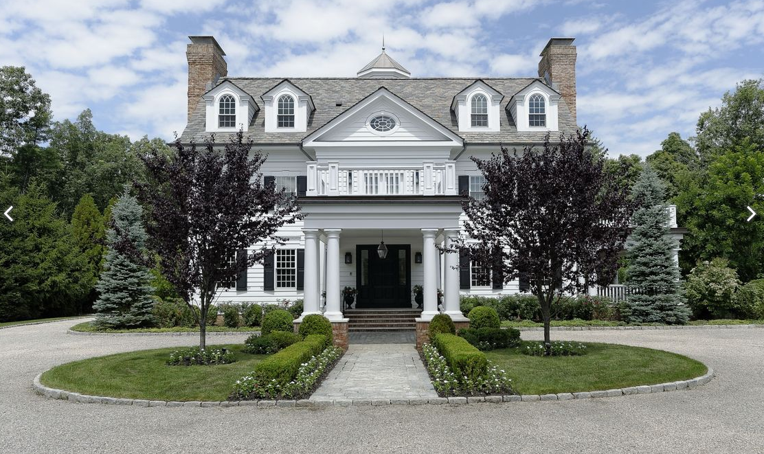 21 500 square foot georgian colonial mansion in greenwich. Black Bedroom Furniture Sets. Home Design Ideas