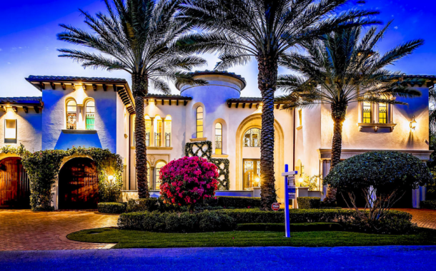 $5.795 Million Mediterranean Waterfront Home In Boca Raton, FL