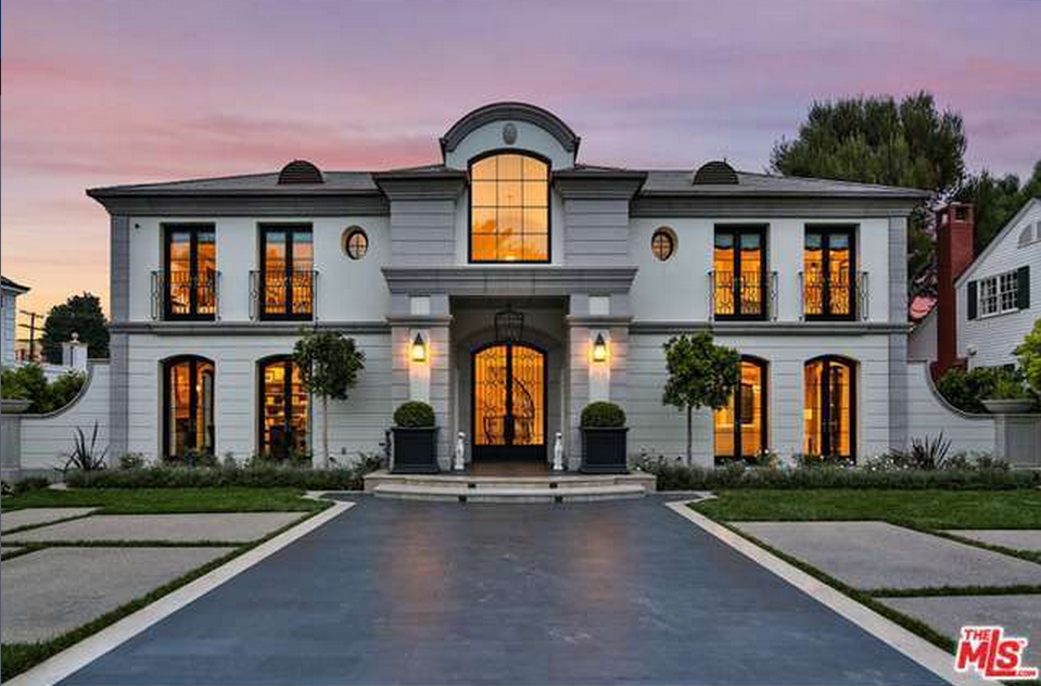 $14.995 Million Newly Built French Inspired Mansion In Los Angeles, CA