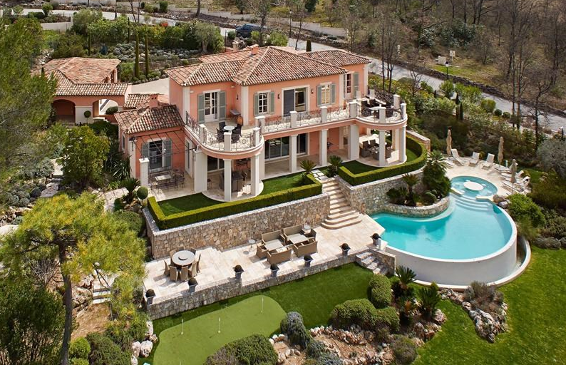 Beautiful Golf Course Villa In Provence-Alpes-Cote D'Azur, France