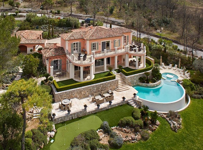 Beautiful Golf Course Villa In Provence-Alpes-Cote D'Azur, France