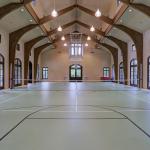Indoor Basketball/Tennis Court