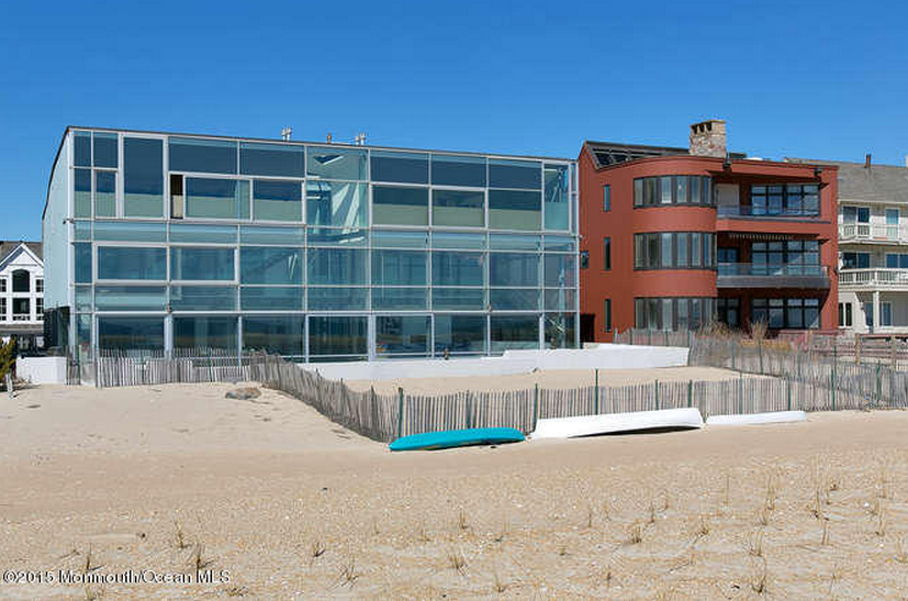 $12.9 Million Newly Built Contemporary Beachfront Mansion In Sea Girt, NJ