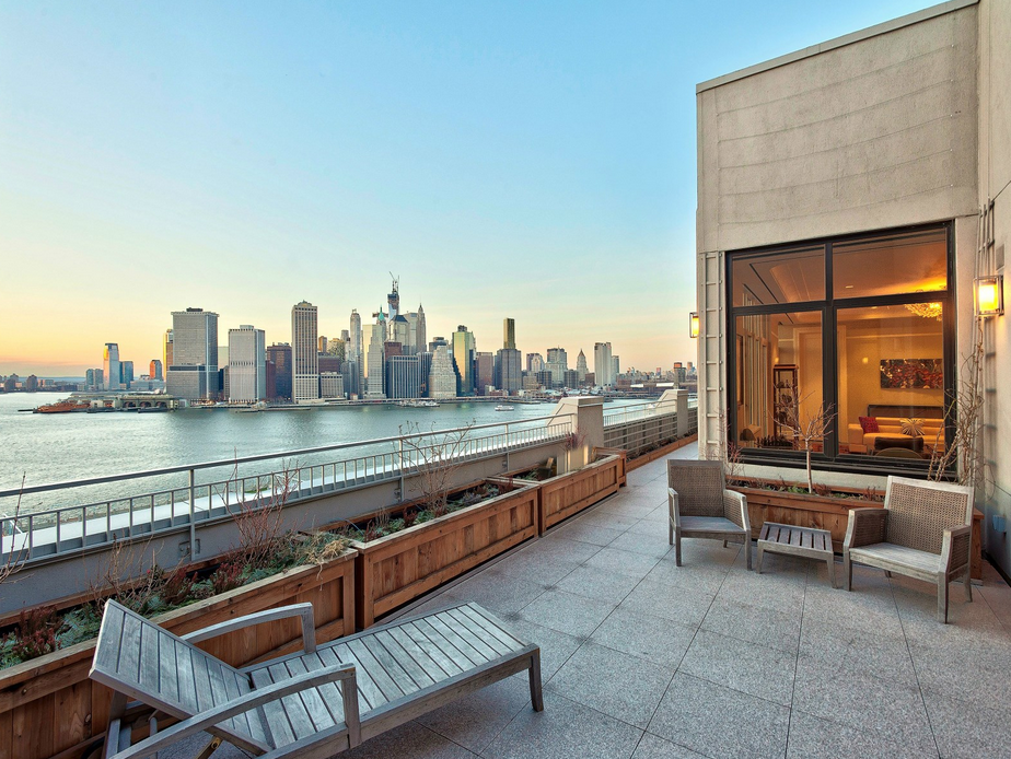 32 million 11 000 square foot penthouse in brooklyn ny for Case in vendita new york manhattan