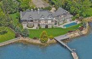 $10.5 Million Stone & Cedar Waterfront Mansion In Westport, CT