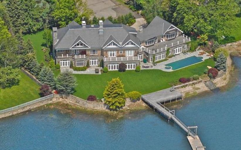 $10.5 Million Stone & Cedar Waterfront Mansion In Westport, CT