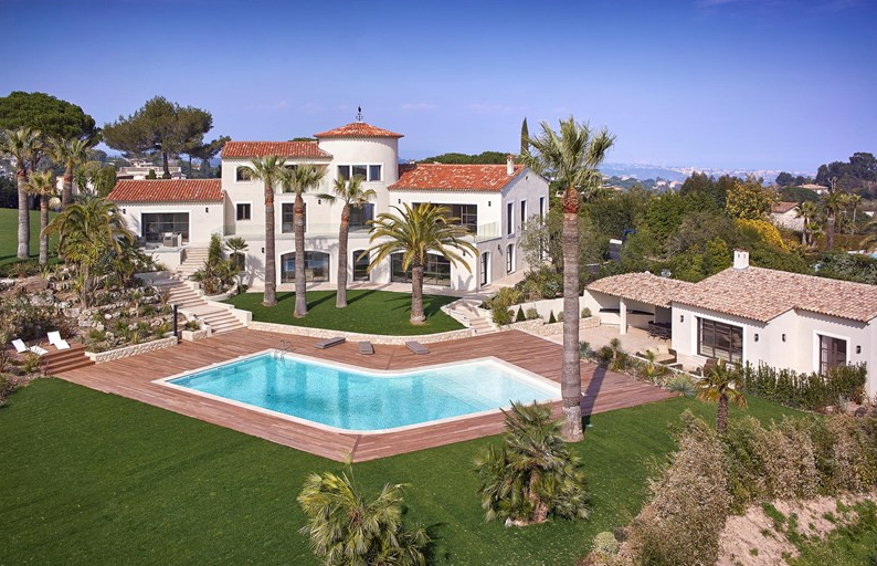 9,100 Square Foot Newly Built Villa In Cannes, France