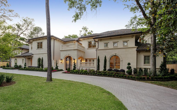 $4.75 Million Newly Built Stucco Mansion In Bunker Hill, TX