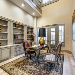 2-story Home Office/Library
