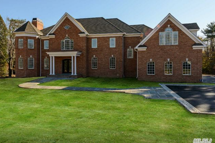 $3.95 Million Newly Built Brick Colonial Home In Old Brookville, NY