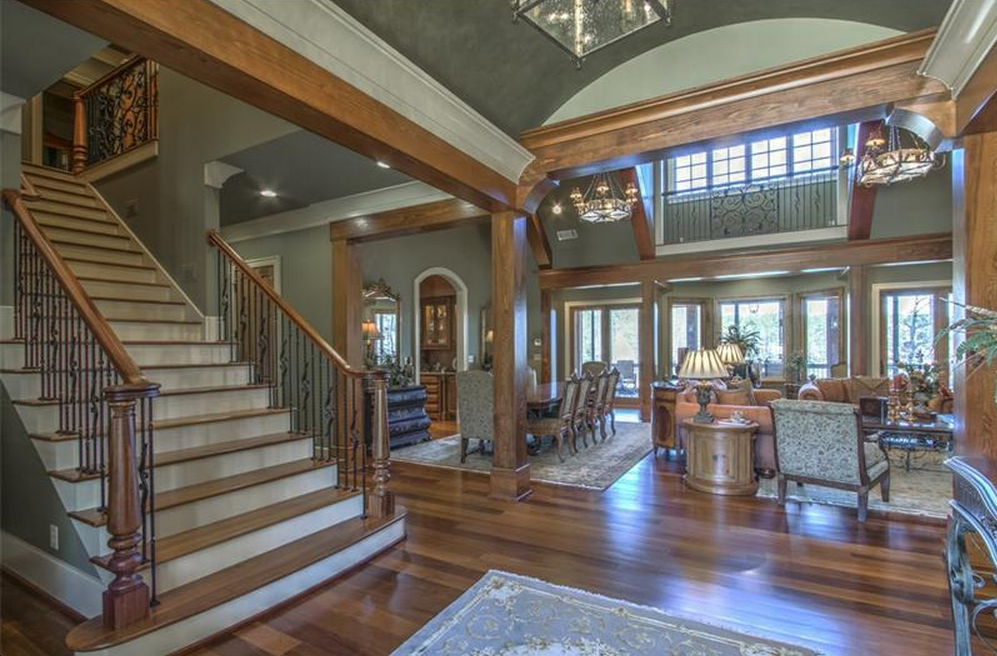 5 75 Million Lakefront Mansion In Greensboro Ga Homes