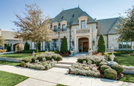 $2.75 Million French Inspired Stone Home In Colleyville, TX
