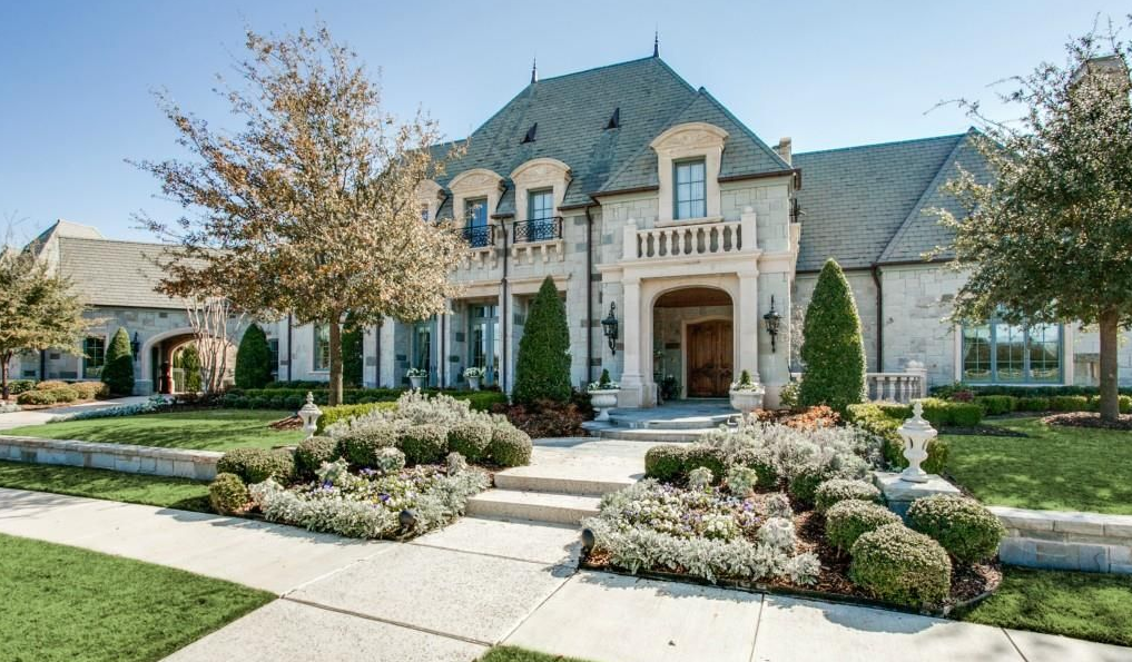 Million French Inspired Stone Home Colleyville