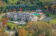 The Stone Mansion In Alpine, NJ Re-listed For $49 Million