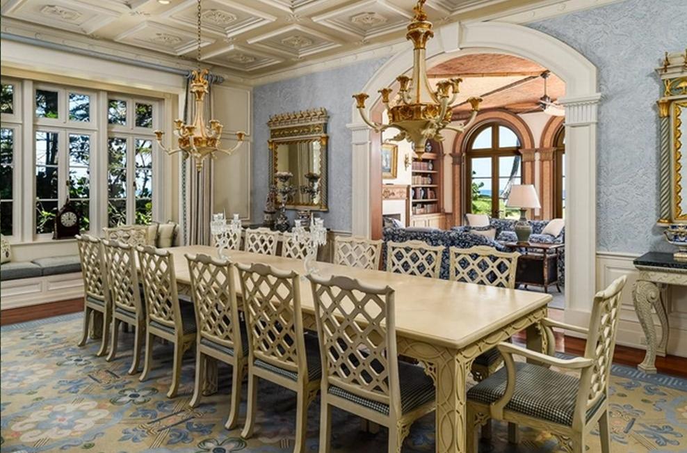 $28.75 Million Oceanfront Mansion In Palm Beach, FL