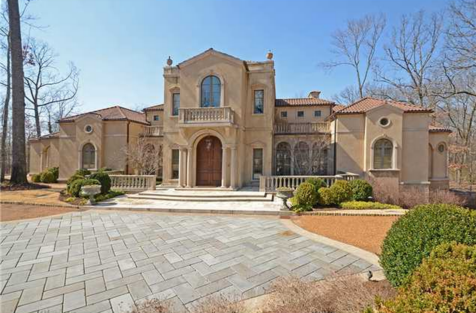 2 9 million italianate style mansion in memphis tn for Italianate homes for sale
