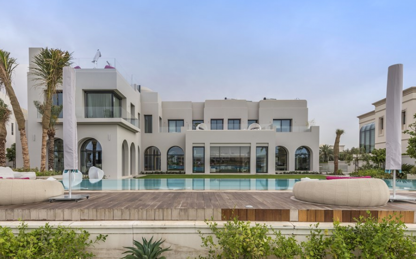 $48 Million 30,000 Square Foot Mega Mansion In Dubai