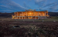 More Exterior Pics Of A $40 Million 50,000 Square Foot Utah Mega Mansion!