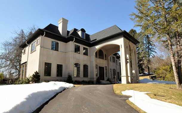 $7.5 Million Newly Built French Inspired Home In Brookline, MA