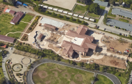 Updated Aerial Pics Of A 38,000 Square Foot Bradbury, CA Mega Mansion