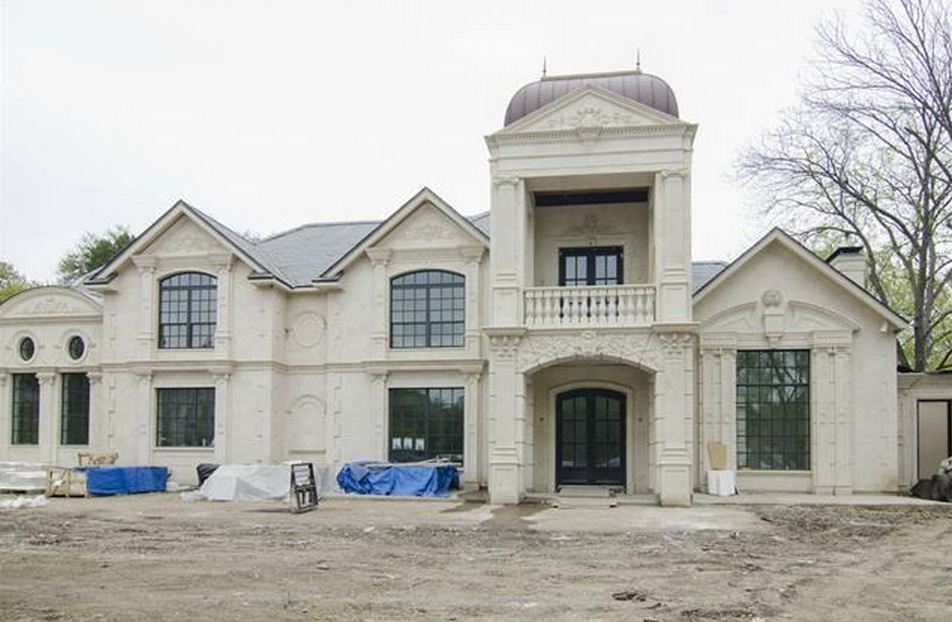 6 million 13 000 square foot newly built french style French style homes