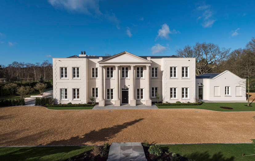 Westwood House – A £20 Million Newly Built Mansion In Surrey, England