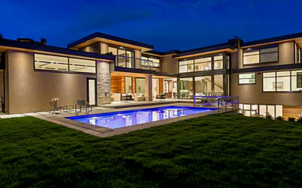 $7.588 Million Newly Built Contemporary Mansion In West Vancouver, Canada